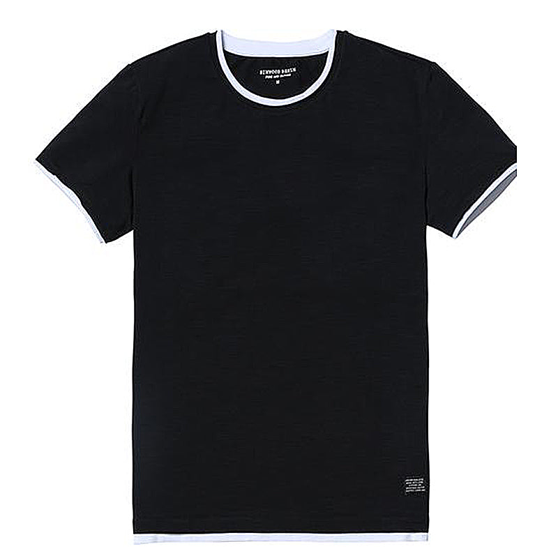 100% Cotton Fake Double Layered T-Shir