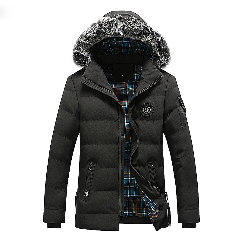Detachable Thick Cotton Padded  Coat