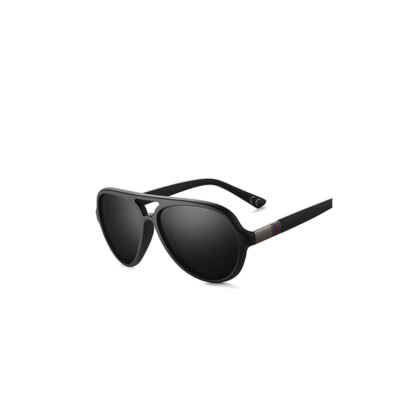 Black Coating Classic Polarized Sunglasses