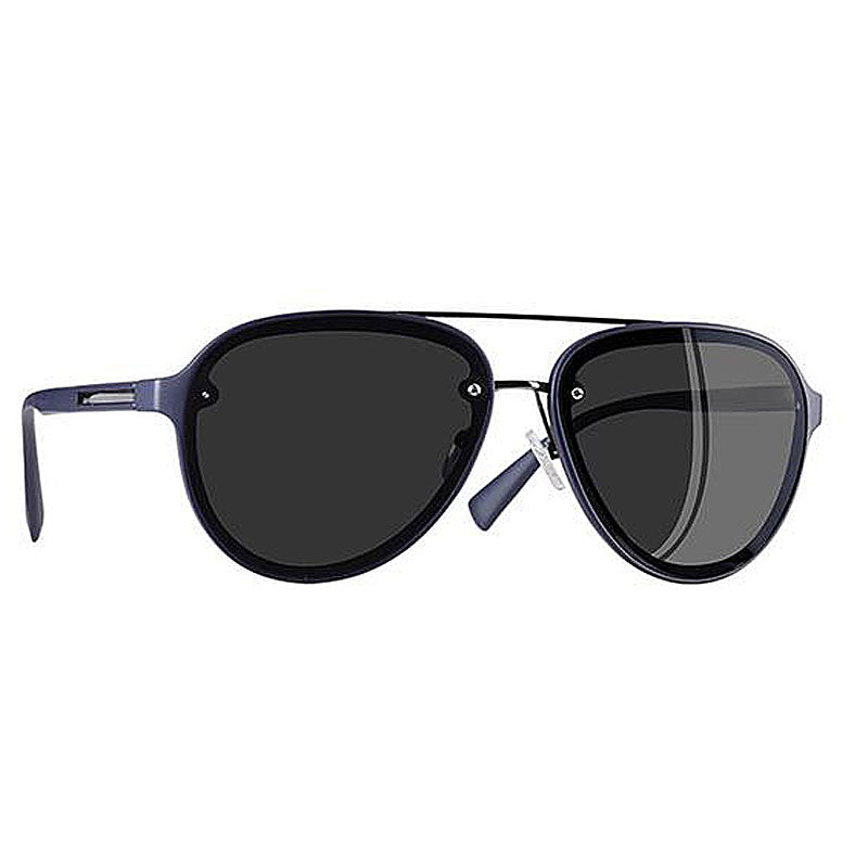 UV400 Pilot Oval Frame Polarized Sunglasses