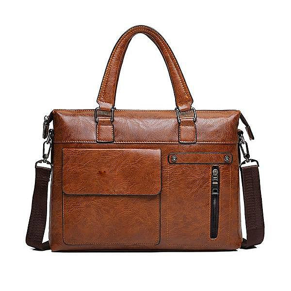 PU Leather Business Briefcase