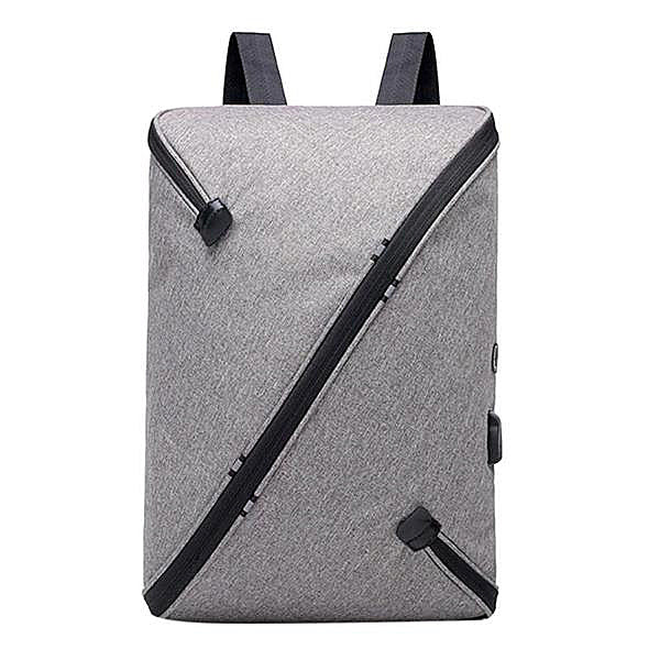 USB Recharging Nylon Large Capacity Backpack