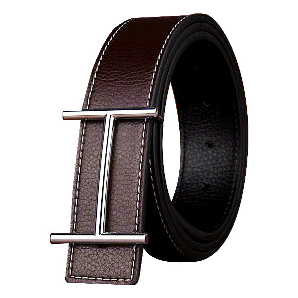 H Designer Genuine Leather Casual Belts