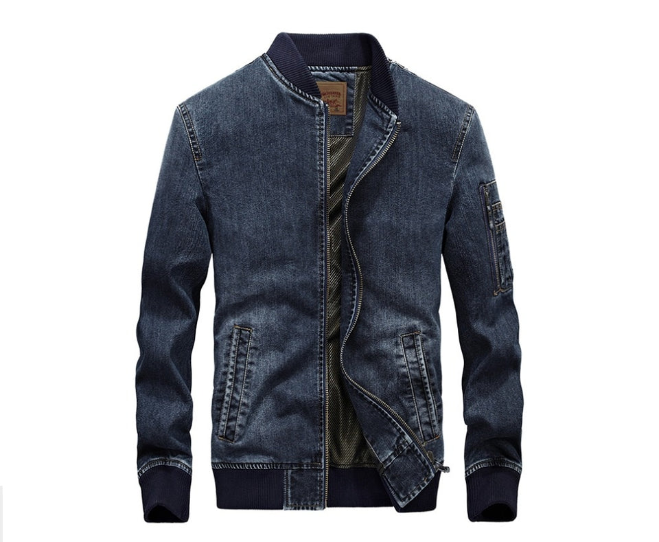 Jean Warm Bomber Jacket