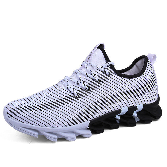 Comfortable Mesh Lace-Up Sneaker