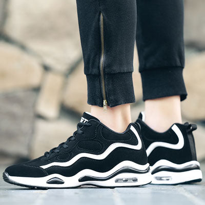 Lace Up Air-cushion Sneakers