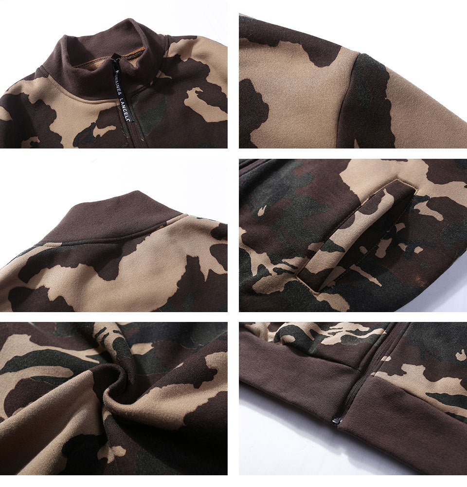 Patch Designs Embroidery Camouflage Jacket