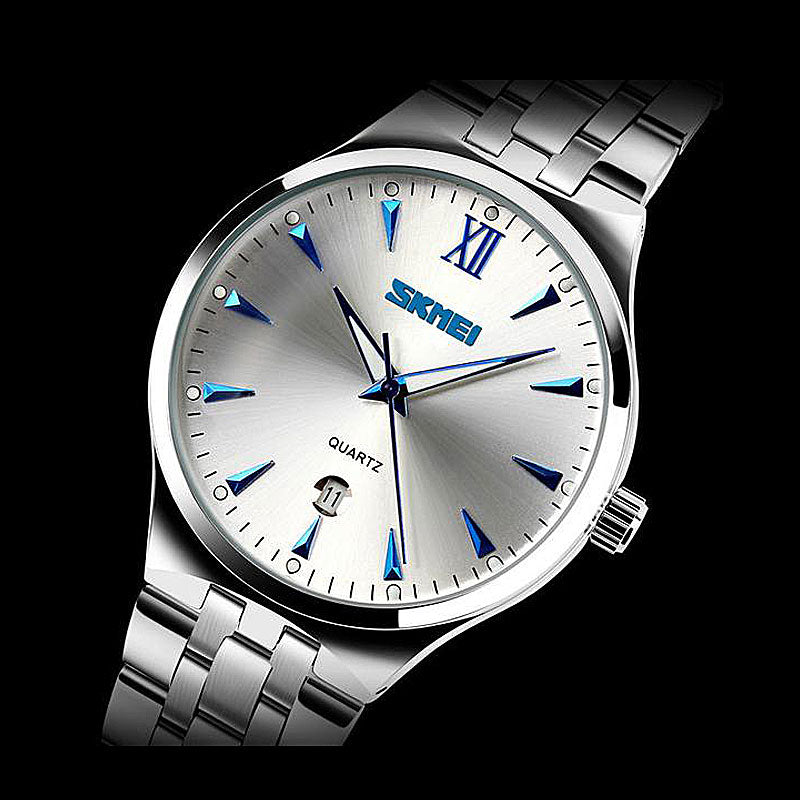 Waterproof Full Steel Quartz Watch