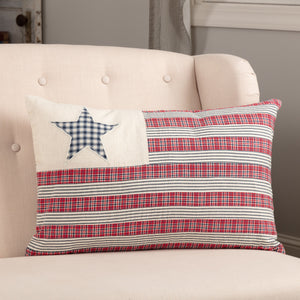 HATTERAS FLAG PILLOW 14X22