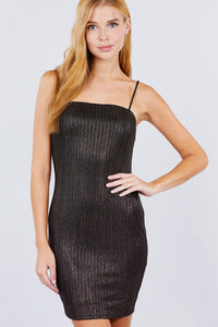 Cami Sparkle Mini Bodycon Dress