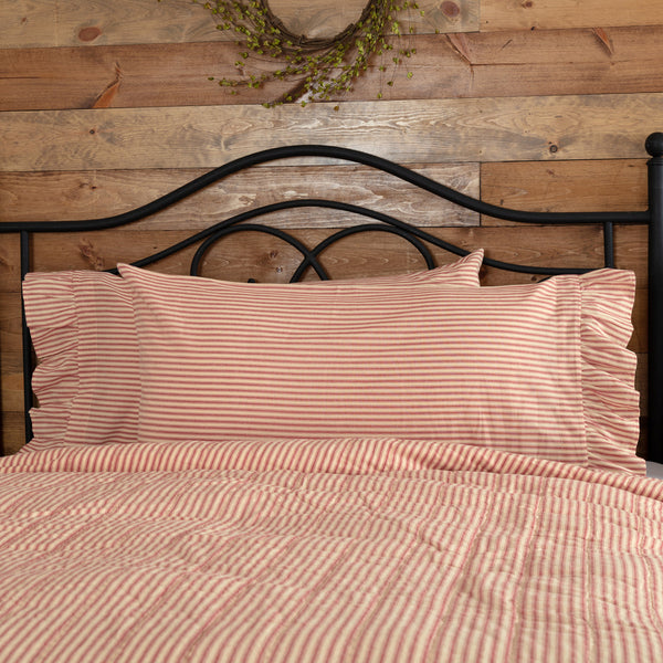 SAWYER MILL TICKING STRIPE PILLOW CASE SET