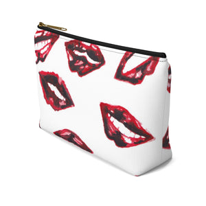 White Makeup Travel Bag