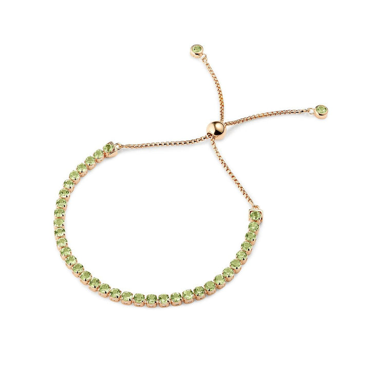 Pinglin Peridot Bracelet, Rose Gold Vermeil - Tsai x Tsai | Luxury Gemstone Jewellery Gift