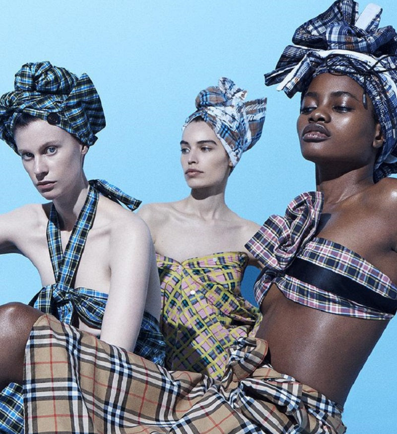 A Burberry Plaid Inspires GlamTribal's Reflection On Diaspora and Our Common Human Origins