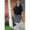 Eyelet Skirt - Black, Lady by Design Apparel