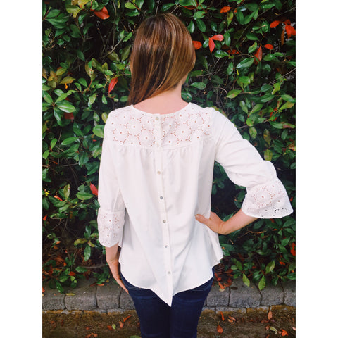 Eve Eyelet Blouse