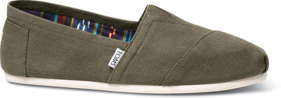 Olive Canvas Men's Classics