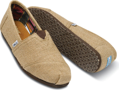 Natural Burlap Men's Classic
