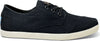 Black Canvas Mens Oxford Paseos