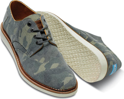 Camo Canvas Men's Classic Brogue