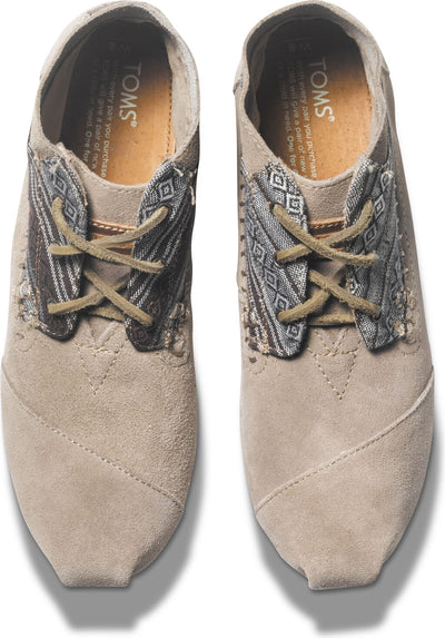 Mix Taupe Suede Women's Tribal Boot