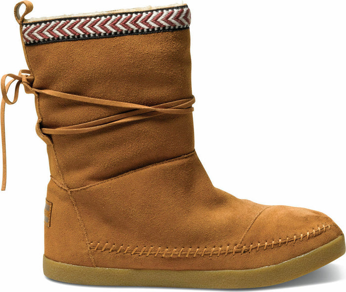 Chestnut Suede Trim Women's Nepal Boot