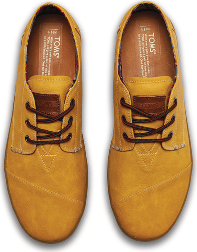 Wheat Synthetic Leather Mens Paseos