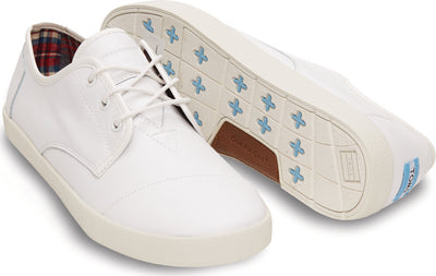 White Action Leather Men's Paseos