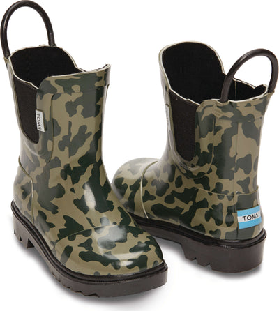 Camo Rubber Youth Rainboot
