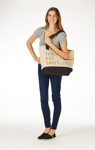 This Bag Saves Lives Canvas Tote