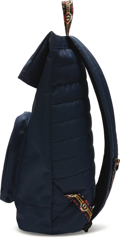 Navy Solid 600D Stand-Up Backpack