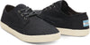 Black Canvas Mens Paseos