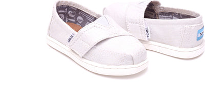 White Irridescent Snake Tiny TOMS Classics