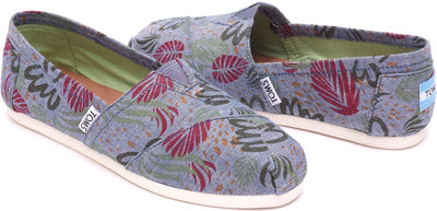 Multi Chambray Abstract Women's Classics
