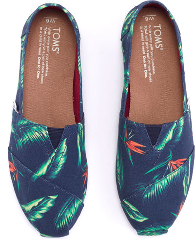Navy Birds Of Paradise Women's Classics