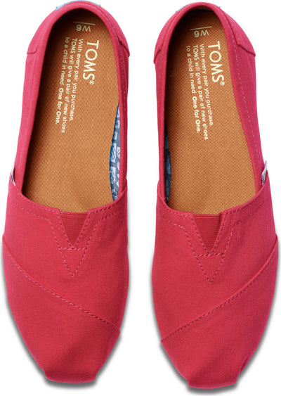 Barberry Pink Canvas Women's Classics