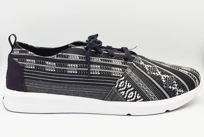 Black And White Woven Men's Delrey