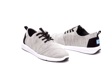 Light Grey Woven Men's Del Rey Sneaker