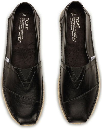 Black Full Grain Leather Men's Classics