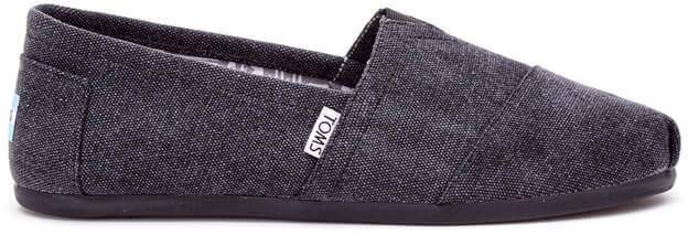 c0a6ac48573 Black Washed Canvas Men s Classics