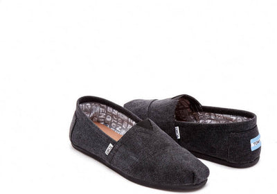 Black Washed Canvas Men's Classics