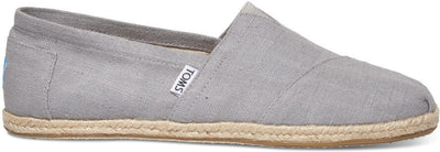 Grey Linen Rope Sole Men's Classics