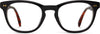 Isa Black Grey/Whisky Tort | Optical Frame Only