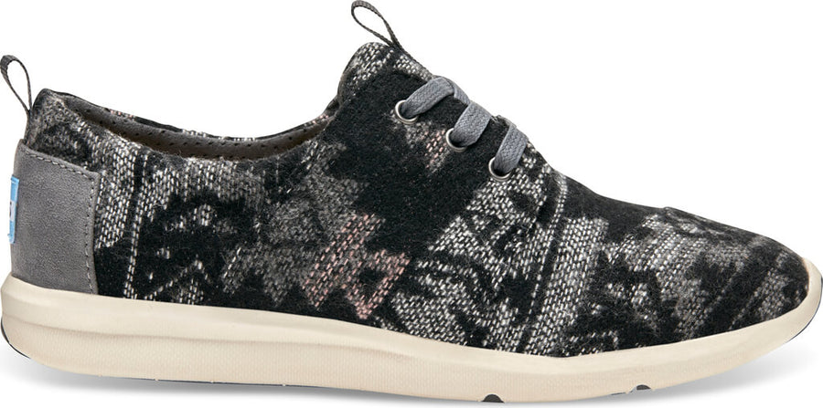 0e453a3ff48 Grey Tribal Wool Women s Del Rey Sneaker