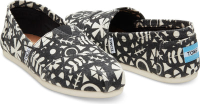 Natural Floral Wool Women's Classic Alpargata