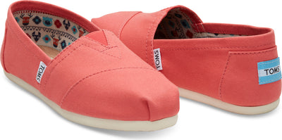 Spiced Coral Canvas Women's Classics
