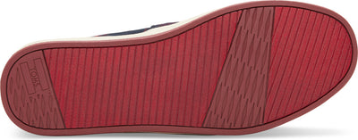 Red/Black Cultural Stripe Men's Avalon Slip-Ons