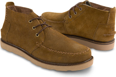 Chestnut Oiled Suede Men's Chukka Boot