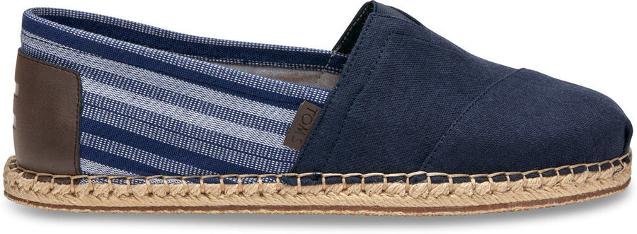0d498ae1e98 Navy Hemp Blanket Stitch Men s Classic
