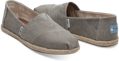 Drizzle Grey Washed Canvas Women's Classics
